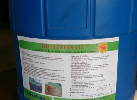 Chất tẩy rữa sắt thép RUSTCONS 117 ( 5 lít, 22 lít)